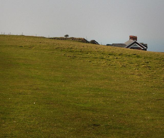 Coast path on West High Down
