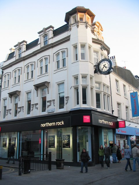 Northern Rock office, Northumberland Street