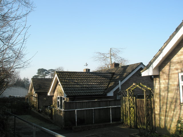 Old people's bungalow between Readon Close and Ramshill