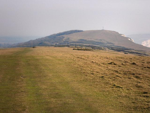 Tennyson Trail, coastal path on West High Down