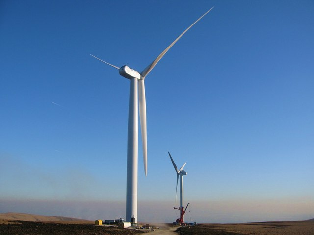 Turbine Towers 15 and 10