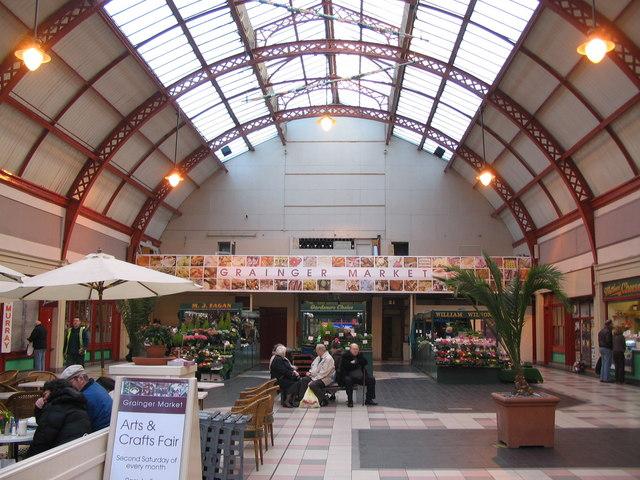 Newcastle's Grainger Market