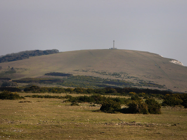 Tennyson Down, from West High Down