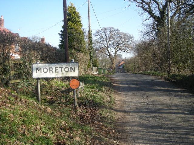 Entering Moreton
