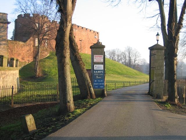 Gateway near Chester Castle