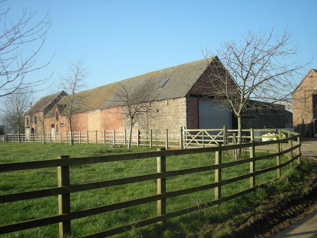 Farm buildings at Walton Grange