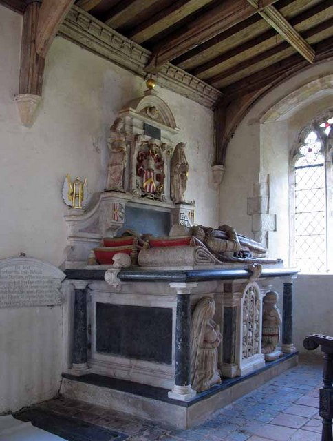 St George's Church, South Acre, Norfolk - Tomb