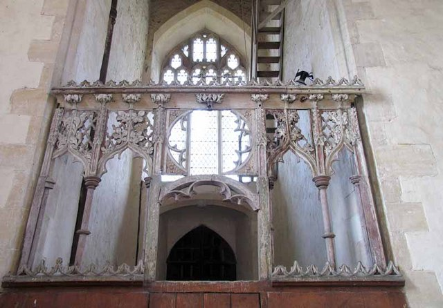 St George's Church, South Acre, Norfolk - Screen