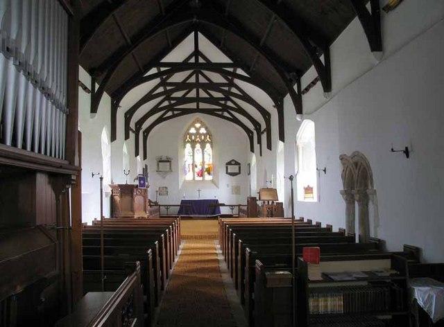 St Mary Magdalen's Church, Pentney, Norfolk - East end