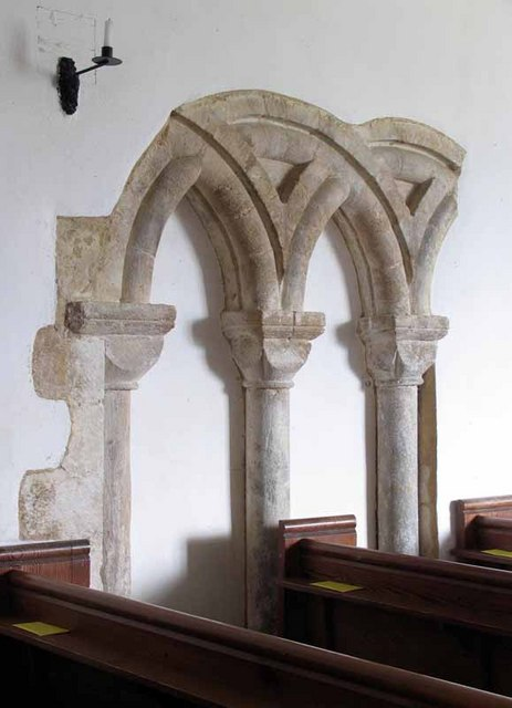 St Mary Magdalen's Church, Pentney, Norfolk - Stonework