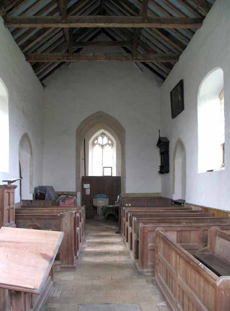 St Cecilia, West Bilney, Norfolk - West end