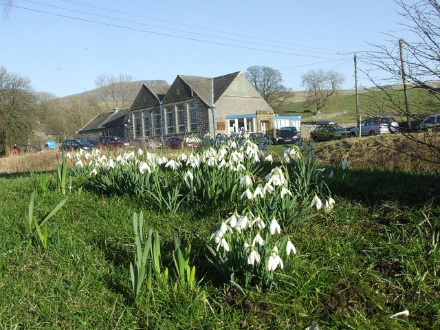 Horton-In-Ribblesdale Primary School (and Snowdrops)