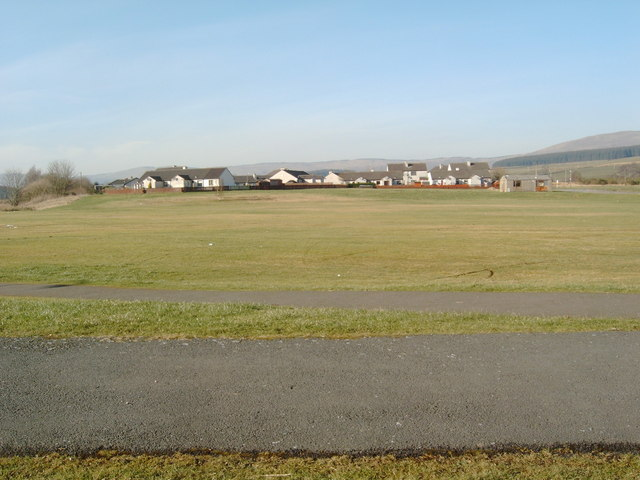 Open field in Kelloholm