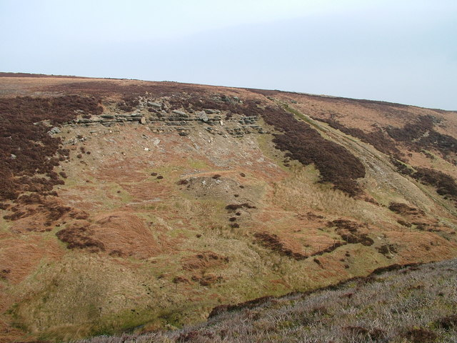 Escarpment above Arndale Beck