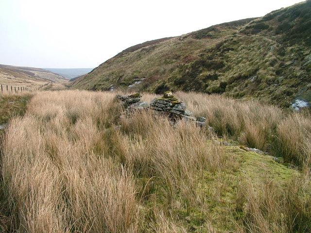 Ruin beside Arndale Beck