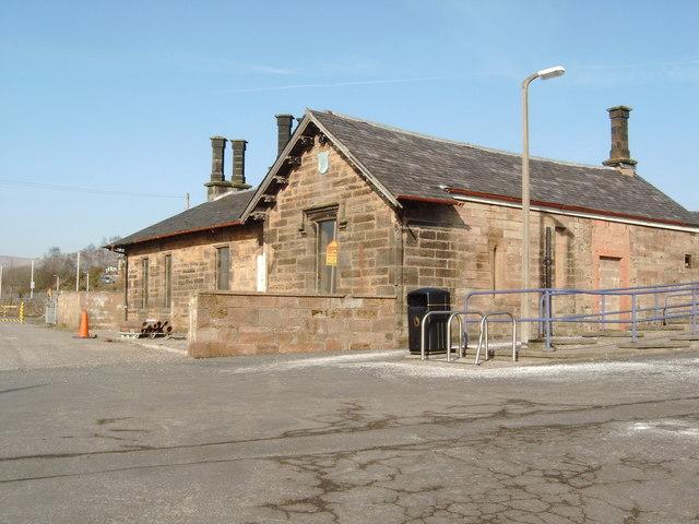Sanquhar's  Former Station Building