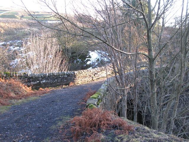 Packhorse bridge at Sipton