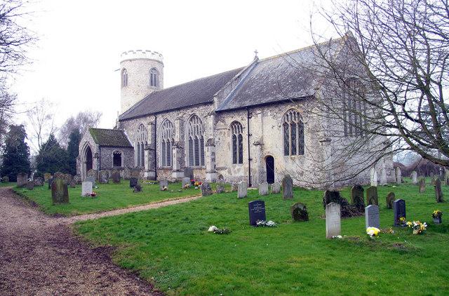 St Mary's Church, East Walton, Norfolk