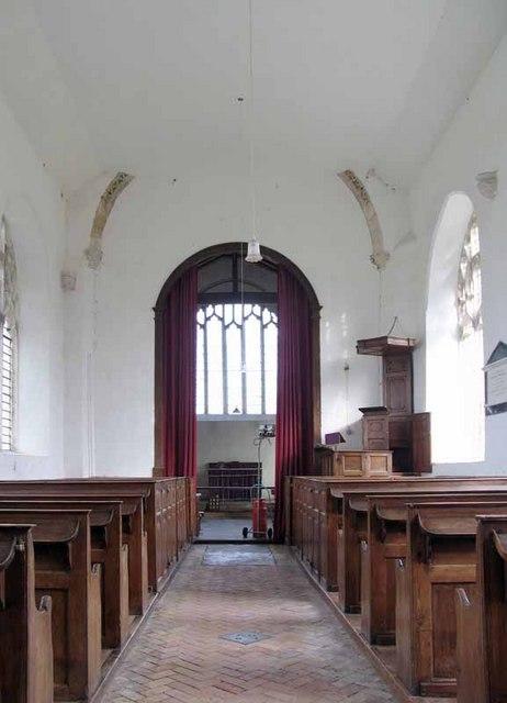 St Mary's Church, East Walton, Norfolk - East end