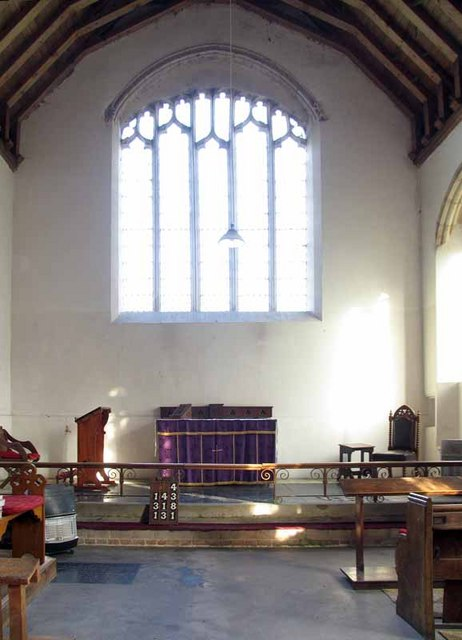 St Mary's Church, East Walton, Norfolk - Chancel