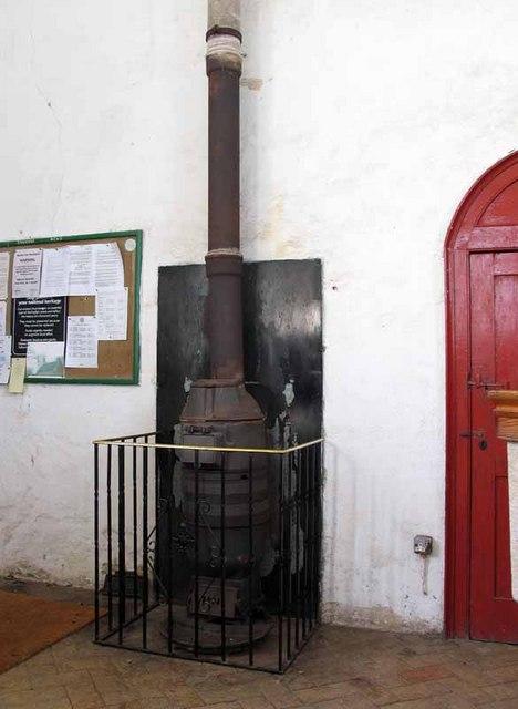 St Mary's Church, East Walton, Norfolk - Boiler