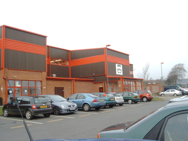Seafood processing plant car park