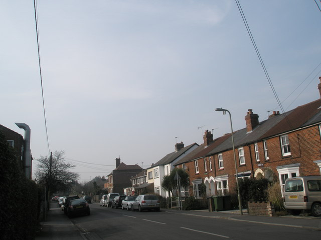 Looking up Rushes Road