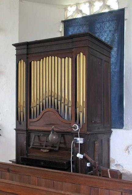 St Mary's Church, Gayton Thorpe, Norfolk - Organ