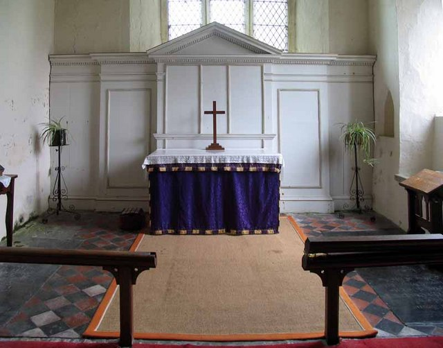 St Mary's Church, Gayton Thorpe, Norfolk - Sanctuary