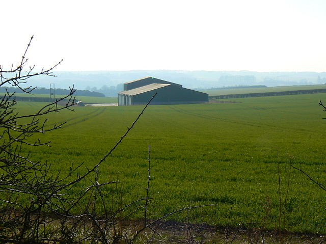 Farm building, north of Itchen Stoke, Hampshire