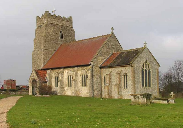 St Andrew's Church, Longham, Norfolk