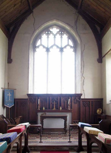 St Andrew's Church, Longham, Norfolk - Chancel