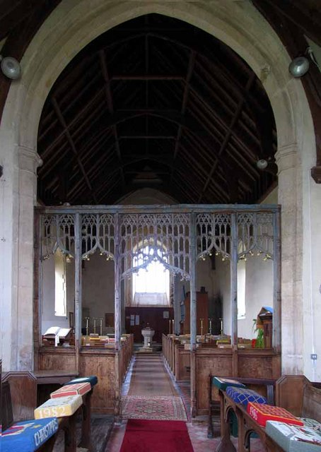 St Andrew's Church, Longham, Norfolk - West end