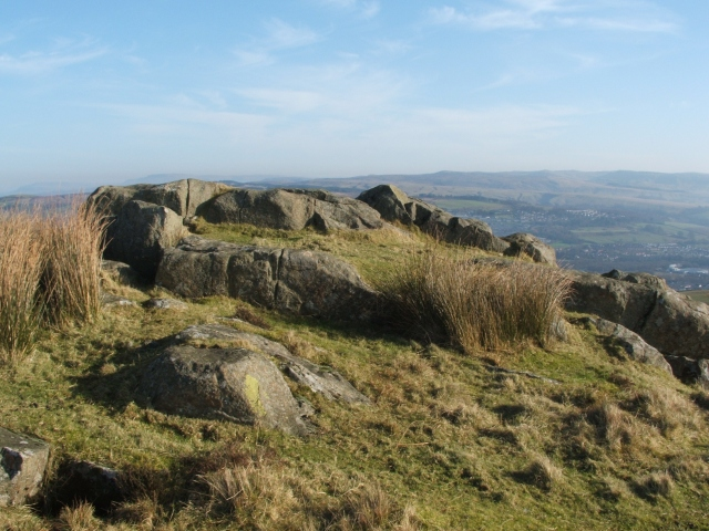 Ancient hill-fort on Carman Hill