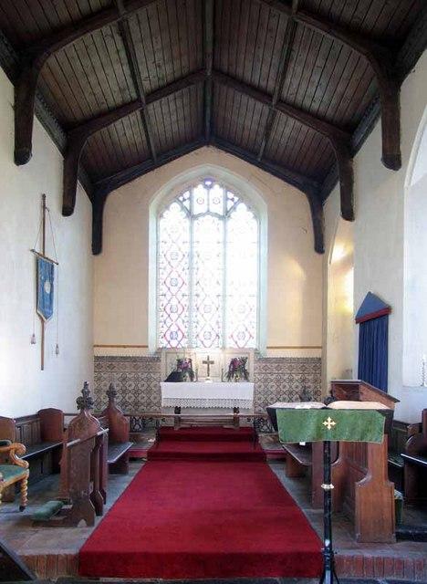 St Peter & St Paul, Wendling, Norfolk - Chancel