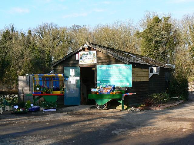 West Lea farm shop, Itchen Stoke, Hampshire