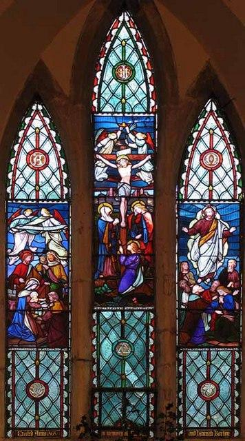 All Saints Church, Threxton, Norfolk - East window