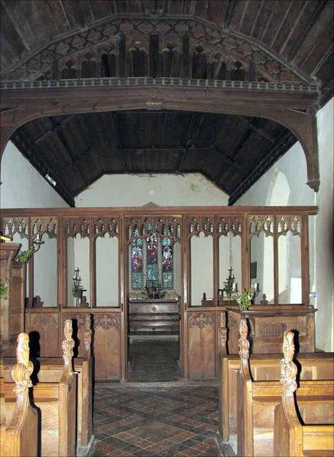 All Saints Church, Threxton, Norfolk - East end