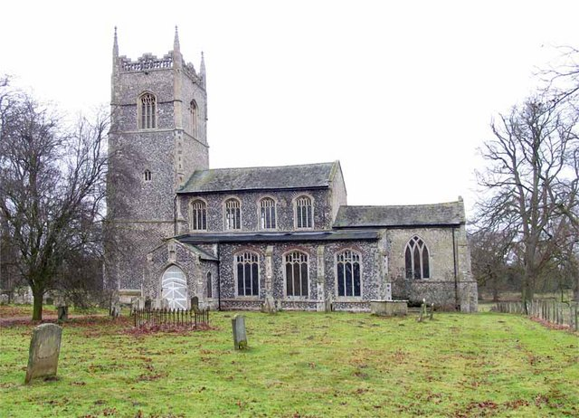 All Saints Church, Hilborough, Norfolk