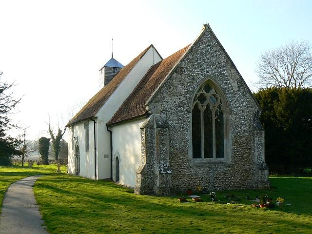St James's church, Upper Wield, Hampshire