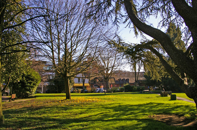 Library Green, Enfield