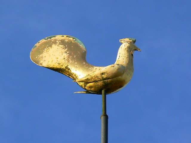 Weather cock, St James's church, Upper Wield, Hampshire
