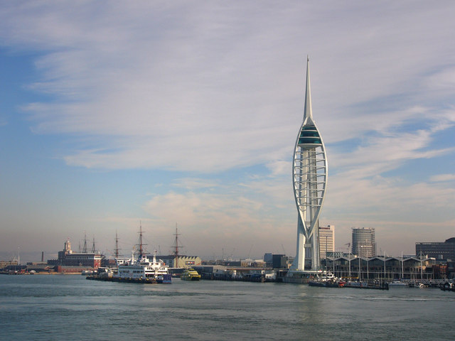 Portsmouth from the dockyard to Gunwharf