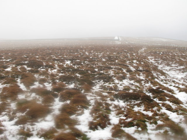 Moorland below Black Hill