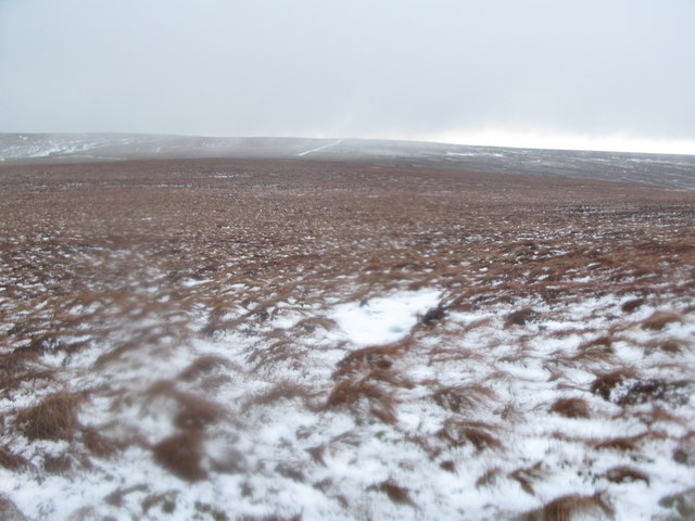 Moorland north of Black Hill