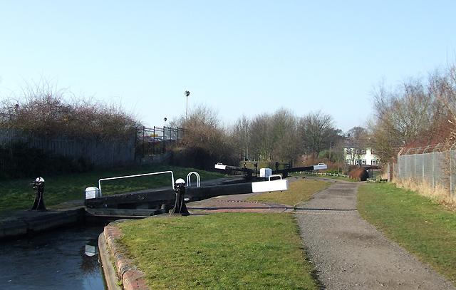 Wolverhampton Locks No 14