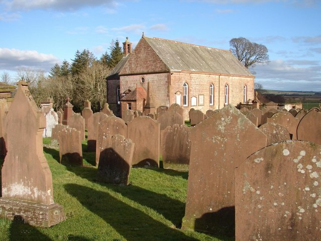Caerlaverock Parish Church & Graveyard, Bankend
