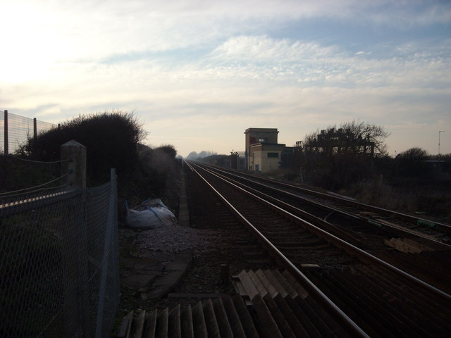 Tracks to Normans Bay, Pevensey Sluice