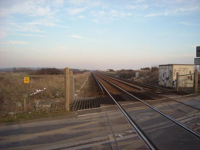 Tracks to Cooden Beach, Pevensey Sluice