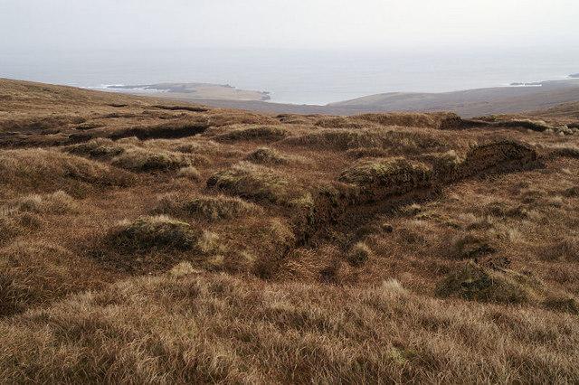 Old peat-workings